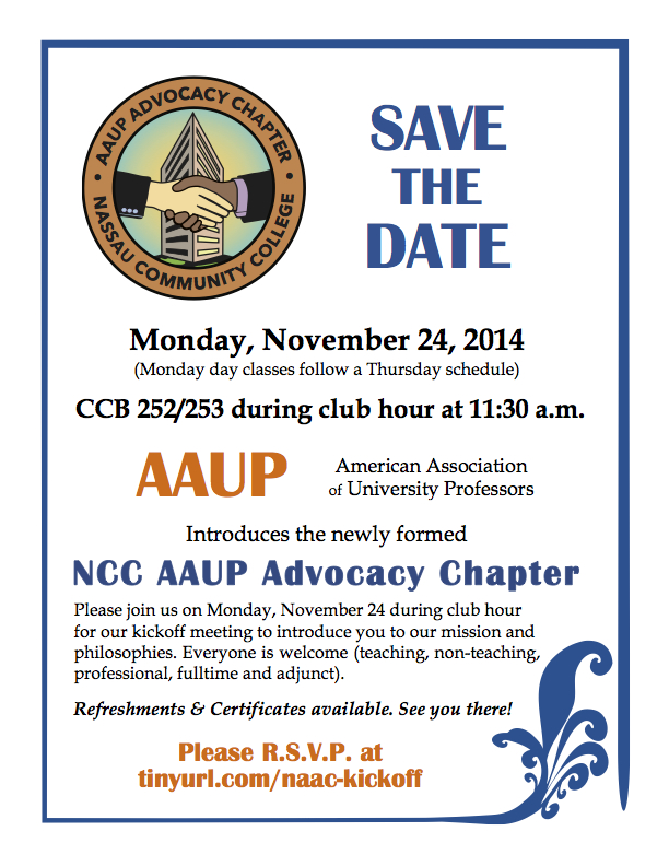 NAAC Kickoff Save the Date November 24